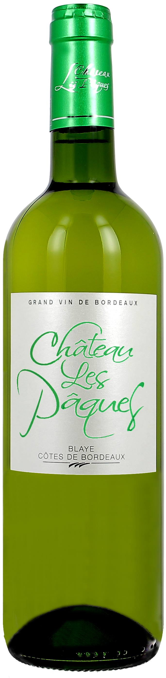 Château Les Pâques 2018 – Blaye Côtes de Bordeaux – Vertdevin