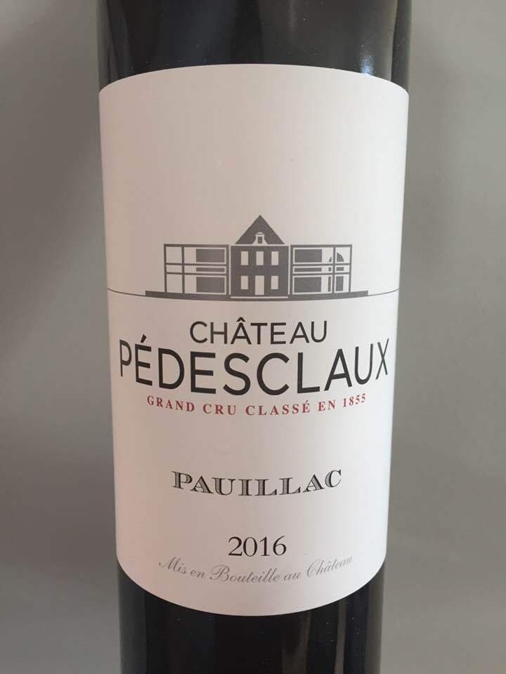 Château Pédesclaux 2016 – Pauillac, Cru Classé