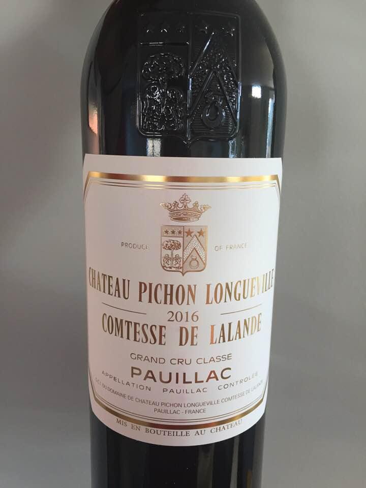 Château Pichon Longueville Comtesse de Lalande 2016 – Pauillac, Cru Classé