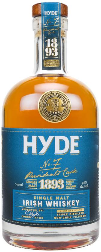 Hyde – N°7 Presidents Cask 1893 – Single Malt, Irish Whiskey