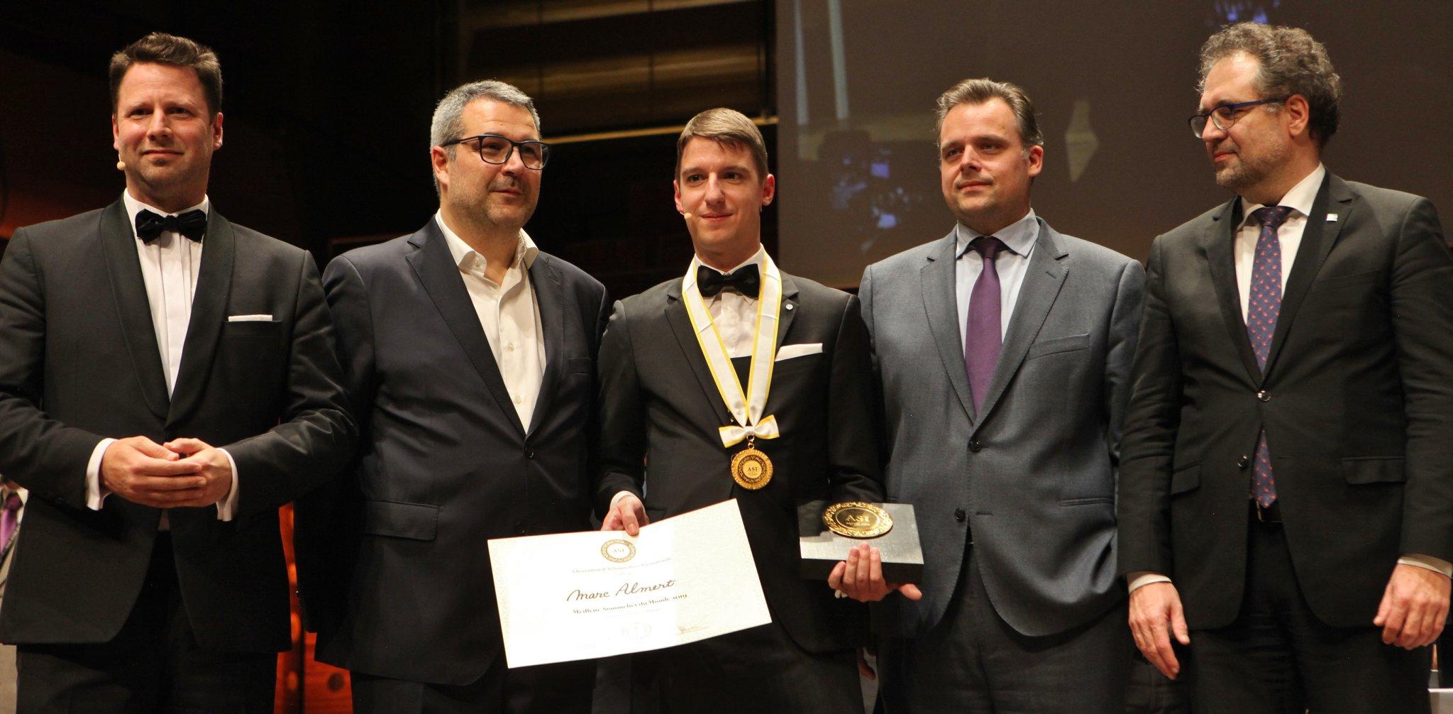 Marc Almert élu Meilleur Sommelier du Monde 2019