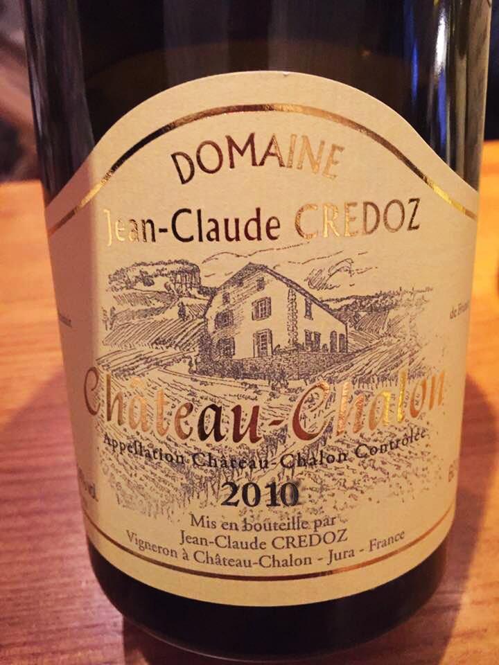 Domaine Jean-Claude & Annie Credoz 2010 – Chateau-Chalon