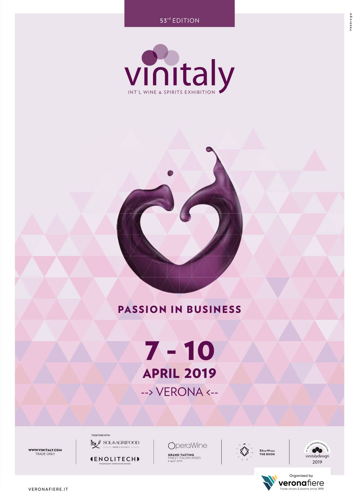 VINITALY 2019: Constant increase in number and quality of buyers !