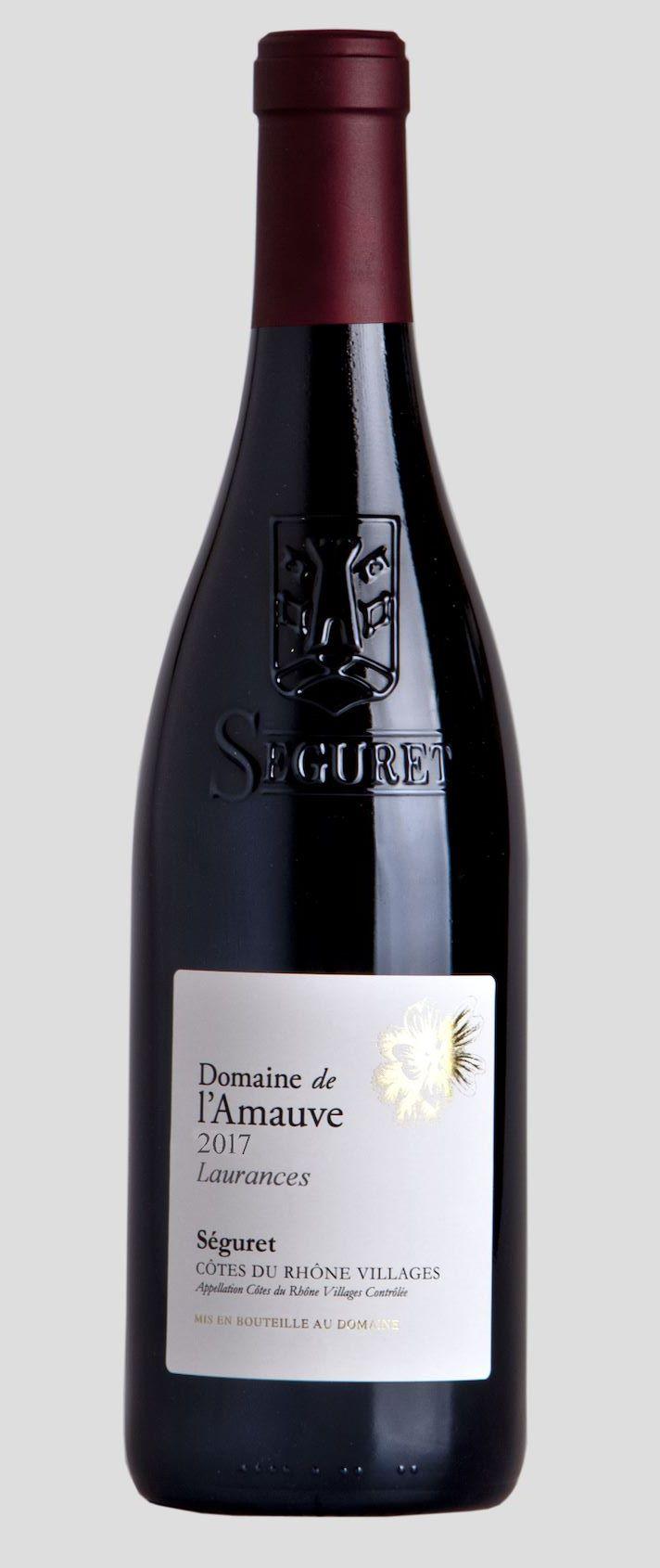Domaine de L'Amauve – Laurences 2017– Côtes du Rhône Billages, Séguret