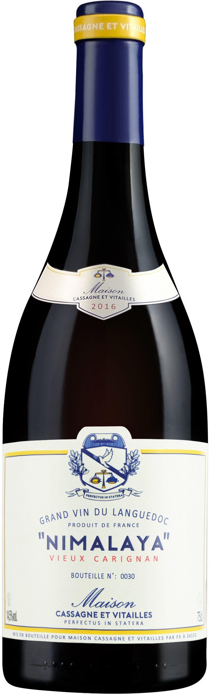 Maison Cassagne et Vitailles – Nimalaya 2016, Vieux Carignan 2016 – Vin de France