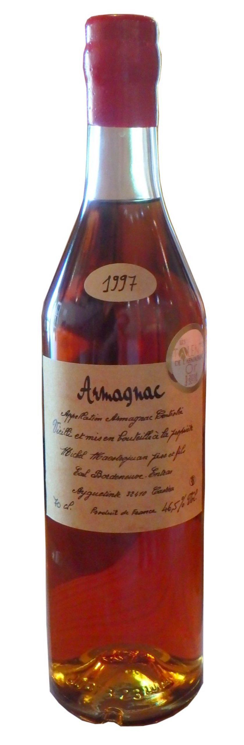 Domaine Entras 1997 – Armagnac Ténareze