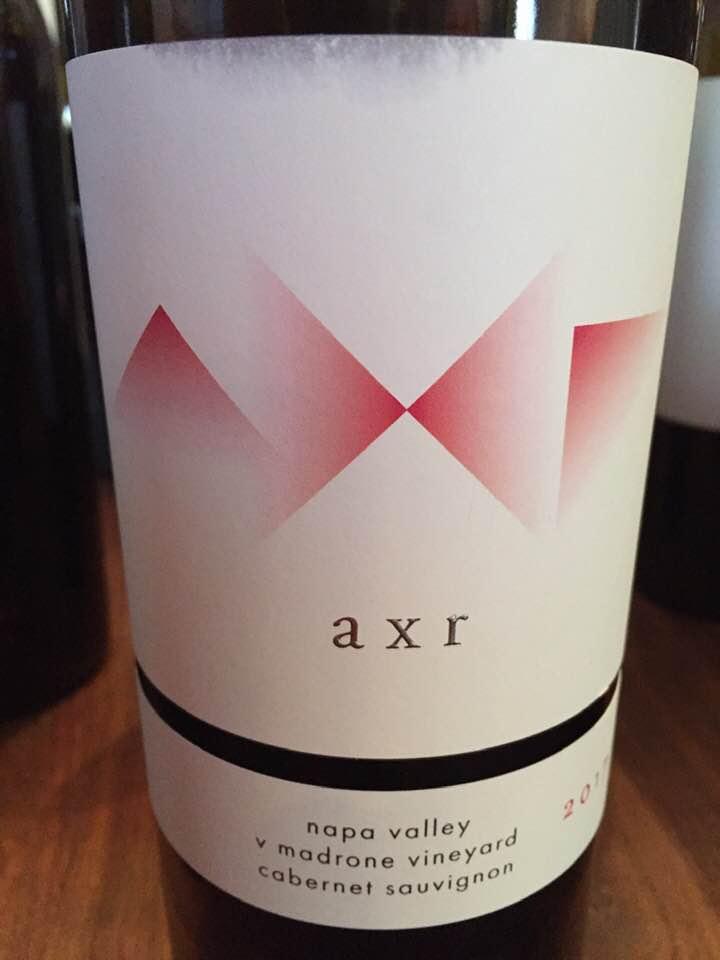 AXR – Cabernet Sauvignon 2017, V Madrone Vineyard – Napa Valley