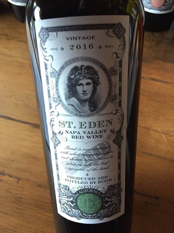 Bond – St. Eden 2016 – Napa Valley
