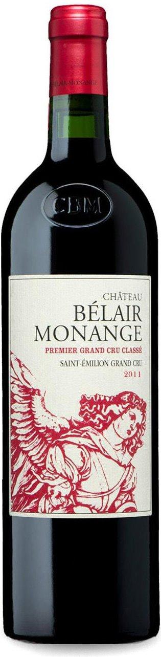 Château Bélair-Monange 2011 – Saint-Emilion Grand Cru, 1er Grand Cru Classé B