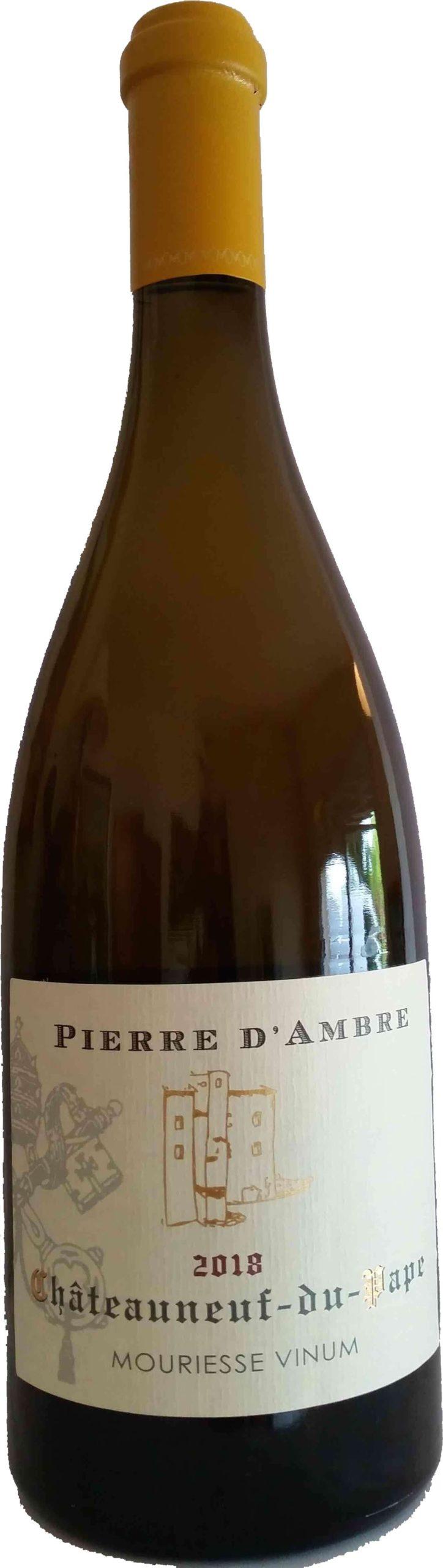 Mouriesse Vinum – Pierre d'Ambre 2019 – Châteauneuf-du-Pape