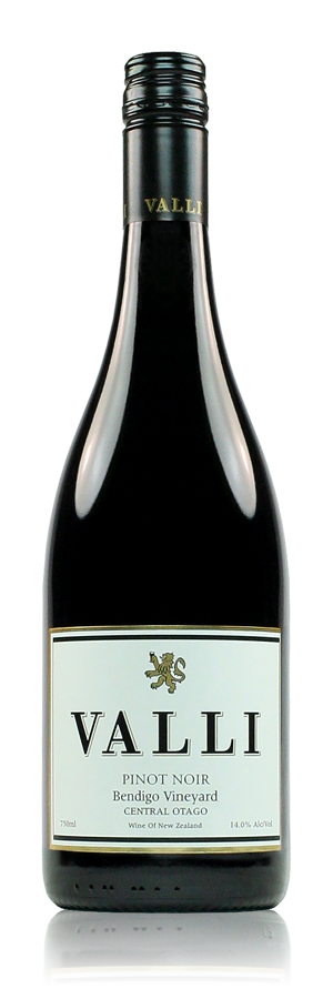 Valli Bendigo Vineyard  Pinot Noir 2018 Bendigo, Central Otago