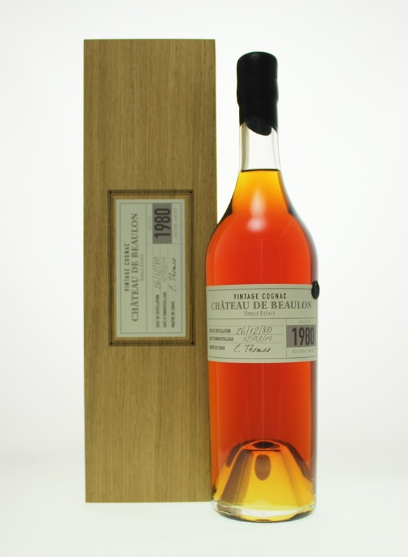 Château de Beaulon 1980, Single Estate – Cognac