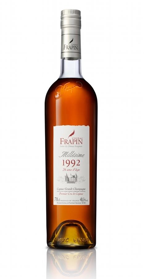 Frapin – Millésime 1992, 26 ans d'âge – Grande Champagne, Cognac, Premier Cru