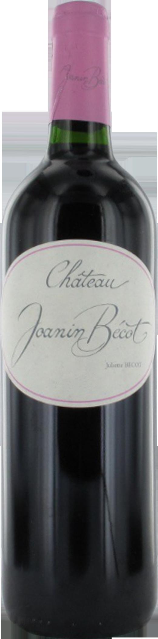 Joanin Bécot 2010 – Castillon – Côtes de Bordeaux
