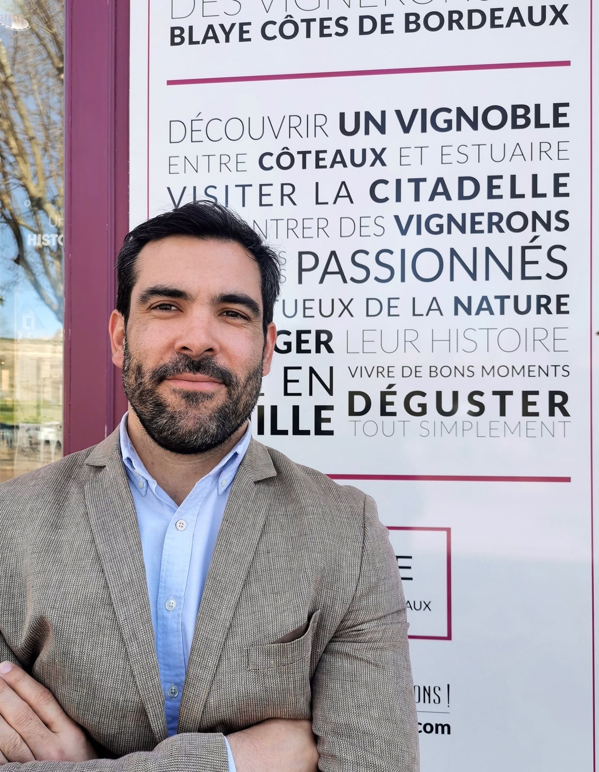 A new director for the Blaye Côtes de Bordeaux appellation