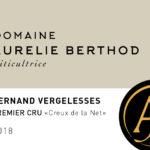 Domaine Aurelie Berthod – Creux de la Net 2018 – Pernand-Vergelesses